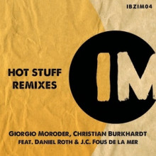 Christian-Burkhardt-Giorgio-Moroder-Hot-Stuff-Remixes-IBZIM004