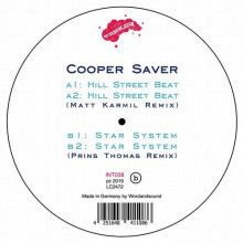 Cooper Saver - Hill Street Beat / Star System (Matt Karmill & Prins Thomas Remixes) (Internasjonal)