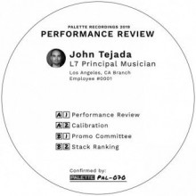 John Tejada - Performance Review (Palette)