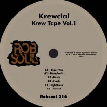 Krewcial - Krew Tape Vol.1 (Robsoul)