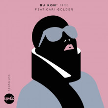 DJ Kon', Cari Golden - Fire (Senso Sounds)