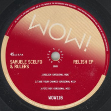 Samuele Scelfo, Rulers - Relish EP (Wow!)