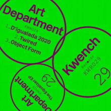 Art Department - The Equalizer EP (Kwench)